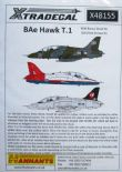 X48155  1/48 BAe Hawk T.1/T.1A decals (27) Was X48047